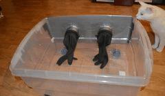 fixation gants