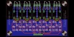 Platine relais état haut pour commande auto-transfo et HPS