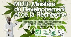 MDR : Ministère de Développement & de la Recherche