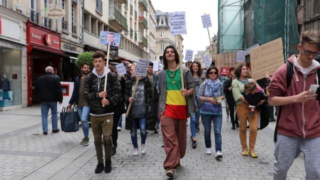 Caen. Ils marchent pour la fin de l'interdiction du cannabis