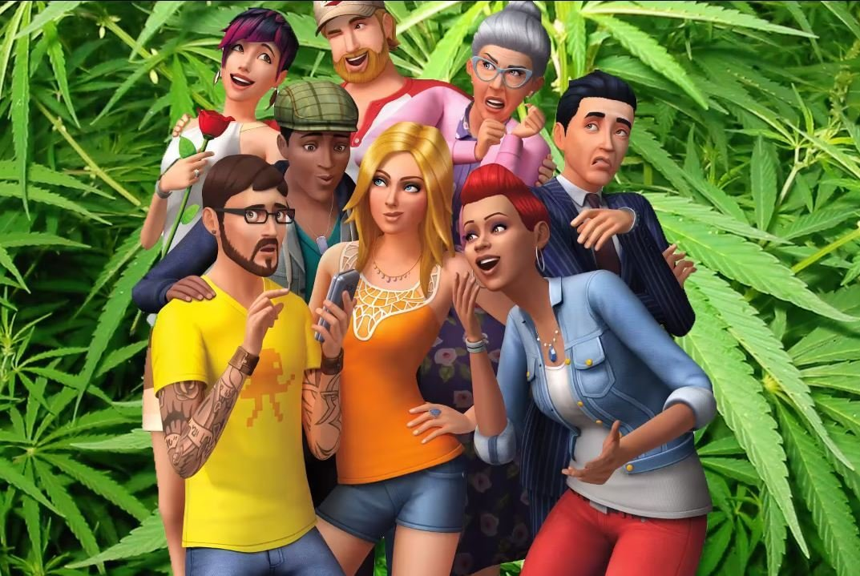 Sims 4 : fumez du cannabis grâce au mod « Basemental Drugs »