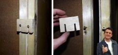 placo / fermeture de porte brevetée