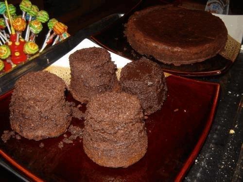 Space Cake au chocolat