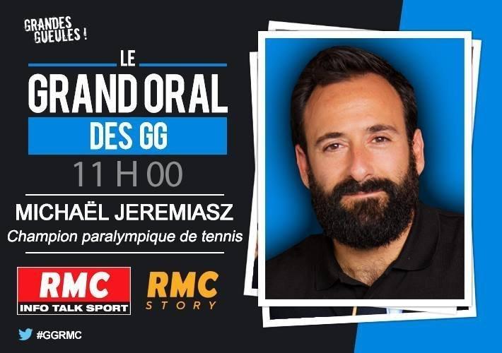 """""""Pour les douleurs, le cannabis fait un bien fou"""", affirme Michaël Jeremiasz, champion paralympique de tennis"""