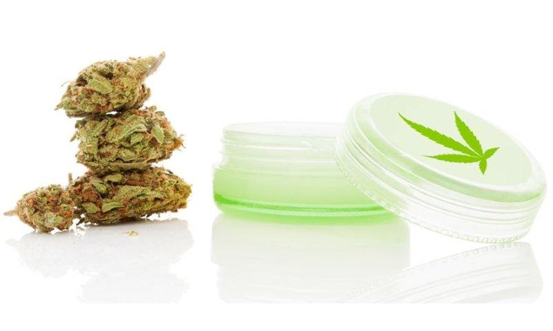 Crème au cannabis