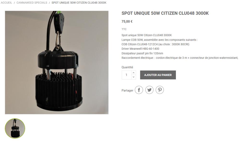 Screenshot_2020-07-28 Spot unique 50W Citizen CLU048 3000K.png