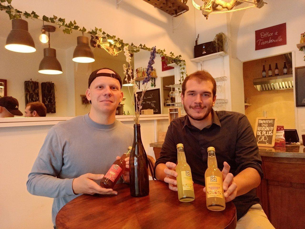 Une start-up de Bordeaux lance la première boisson française à base de cannabis